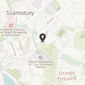 """""""Rotary Klub"""" Szamotuły na mapie"""