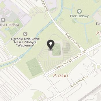 Akademia Piłkarska Motor Lublin na mapie