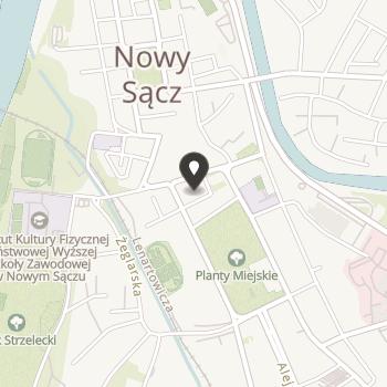 Stowarzyszenie Nowosądecka Wspólnota na mapie