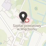 """Stowarzyszenie """"Szpital Wspólnym Dobrem"""" w Więcborku na mapie"""