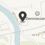 """Klub Żeglarski """"Kliwer"""" Piła na mapie"""
