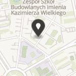 """Fundacja """"Akademia Europejska Kulice-Kuelz"""" na mapie"""