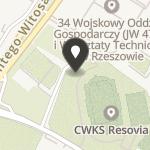 """Cywilno Wojskowy Klub Sportowy """"Resovia"""" na mapie"""