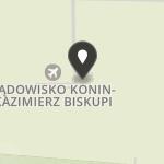 Aeroklub Koniński na mapie