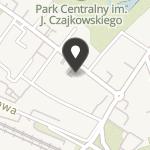 """Klub Integracji Twórczych """"Stowarzyszenie Żywych Poetów"""" na mapie"""