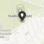 """Namysłowski Klub Sportowy """"Start"""" na mapie"""