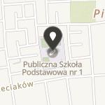 Stowarzyszenie na Rzecz Dzieci Publicznej Szkoły Podstawowej nr 1 w Ostrowcu św na mapie