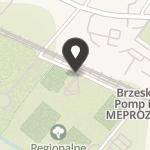 """Brzeskie Towarzystwo Piłkarskie """"Stal Brzeg"""" na mapie"""