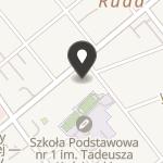 """Puławskie Stowarzyszenie na Rzecz Dzieci Potrzebujących Pomocy i Ich Rodzin """"Tęcza"""" na mapie"""