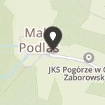 """Jeździecki Klub Sportowy """"Pogórze"""" w Gliniku Zaborowskim na mapie"""