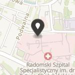Narodowy Fundusz Ochrony Zdrowia Komitet Oddziału w Radomiu na mapie
