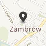 """Stowarzyszenie """"Szansa"""" w Zambrowie na mapie"""