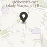 """Centrum Inicjatyw Młodzieżowych """"Horyzonty"""" na mapie"""