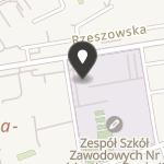 Międzyszkolny Klub Sportowy w Dębicy na mapie