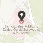 """Fundacja Pomocy na Rzecz Szpitala w Parczewie """"Samarytanin"""" na mapie"""