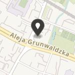 Demokratyczna Unia Kobiet Klub w Gdańsku na mapie