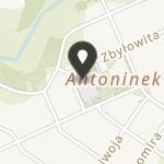 """Uczniowski Klub Sportowy """"Antoninek"""" przy Szkole Podstawowej nr 87 na mapie"""