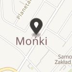 Fundacja na Rzecz Rozwoju Powiatu Monieckiego na mapie