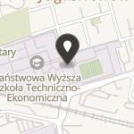 Klub Uczelniany Akademickiego Związku Sportowego Państwowej Wyższej Szkoły Techniczno-Ekonomicznej w Jarosławiu na mapie