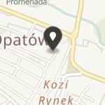Lokalna Grupa Działania Powiatu Opatowskiego na mapie