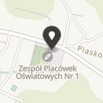Stowarzyszenie Przyjaciół Szkoły Podstawowej nr 1 w Mławie na mapie