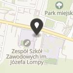 Stowarzyszenie Przyjaciół Zespołu Szkół Zawodowych im. Józefa Lompy na mapie