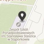 """Uczniowski Klub Sportowy """"Staszic"""" na mapie"""
