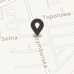 Stowarzyszenie Kujawskie Centrum Tenisowe Masters w Inowrocławiu na mapie